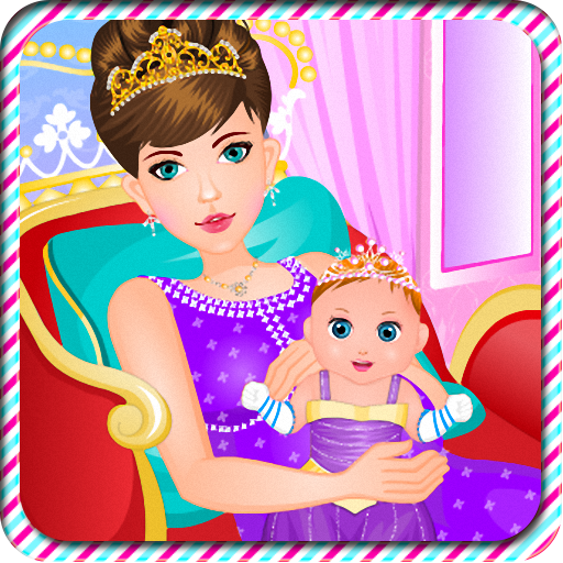Pregnant queen gives birth 休閒 LOGO-玩APPs