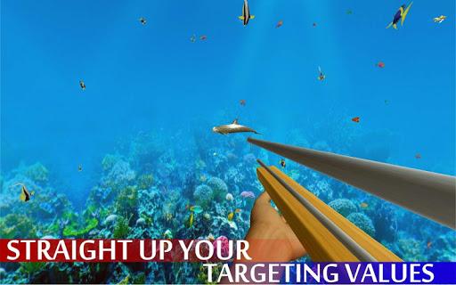 Spearfishing Wild Shark Hunter - Fishing game apkpoly screenshots 14