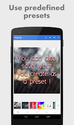 PixelLab - Text on pictures .APK Preview 6