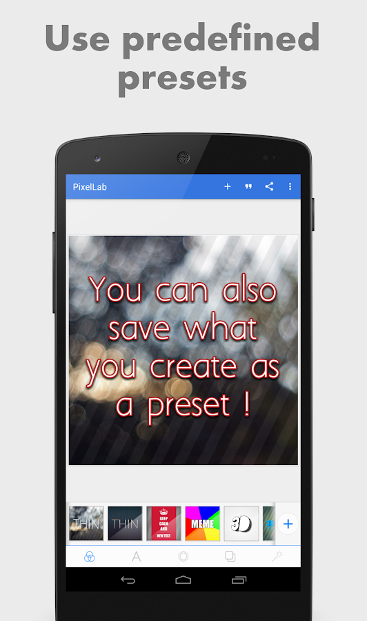 PixelLab - Text on pictures- screenshot