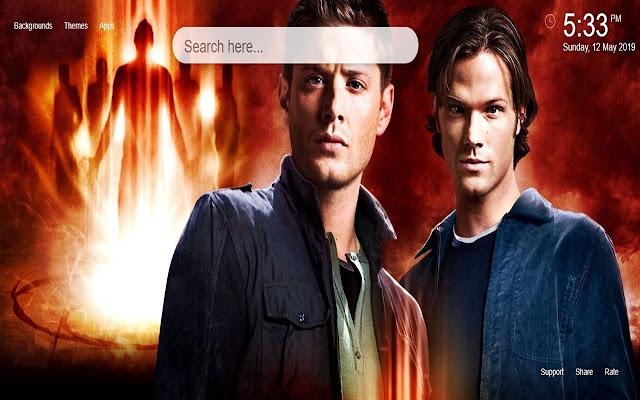Supernatural HD Wallpapers New Tab