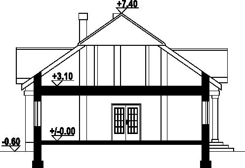 Antonin tb - Przekrój
