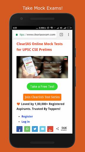 ClearIAS - Self-Study App for UPSC IAS/IPS Exam 51 screenshots 3