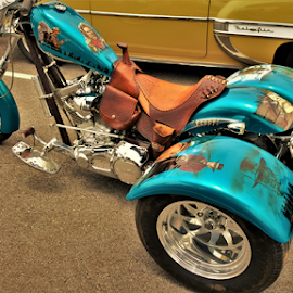 Clint Trike by Benito Flores Jr - Transportation Motorcycles ( motorcycle, clint, temple, western, texas, car show, trike )