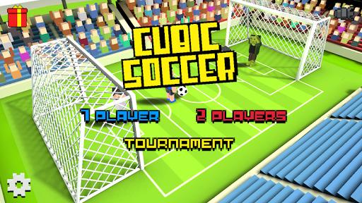 Cubic Soccer 3D  captures d'écran 1