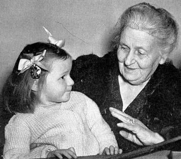 Maria Montessori, psychiatre, Rome, Italie, début de carrière, enfants déficients