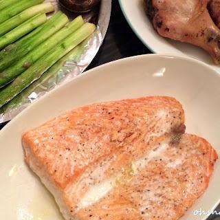 Oven Baked Salmon (A Super Easy Oven Baked Dinner Part I)