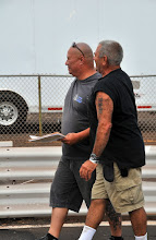 Photo: Track workers Sean and Dean...