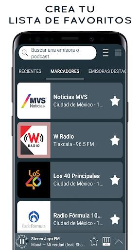 Radio Mexico: Online Radio, Internet Radio screenshots 3