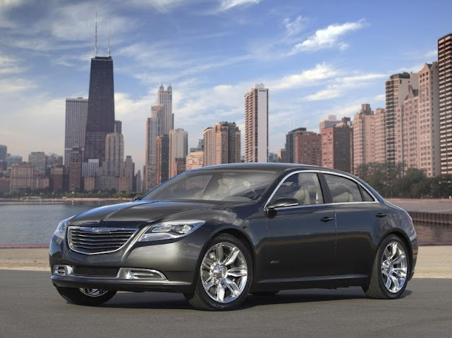 android Wallpapers of the Chrysler 200 Screenshot 2