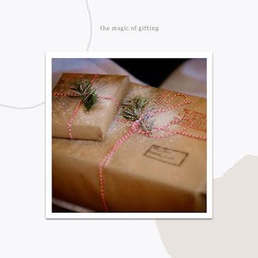 Magic of Gifting - Christmas Template