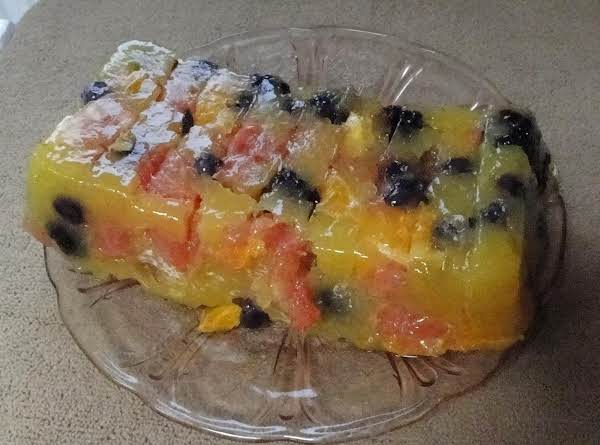 Teacherman's Citrus-berry Terrine Recipe