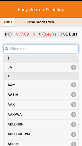 Bursa Saham Stock Exchange