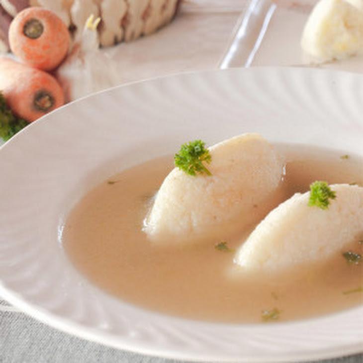 Clear Soup Recipe - Vegetable consommé