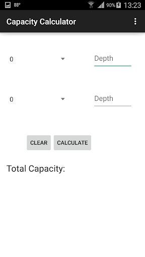 Oilfield Capacity Calculator