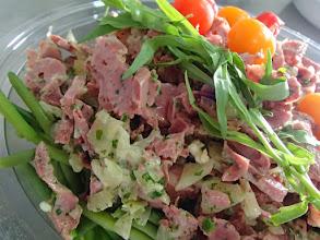 Photo: Salade d' haricots verts et gésiers confits