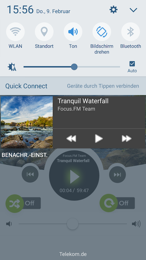 Binaurale Musik by focus.FM – Screenshot
