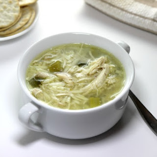 Chicken Soup with Orzo.
