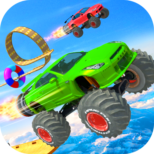 Mega Ramp Stunts - Impossible Car Racing & Stunts
