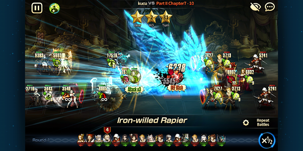 Brave Nine – Tactical RPG Mod Apk Download For Android and Iphone 7