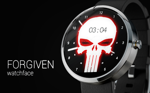 FORGIVEN - Watch Face Screenshot