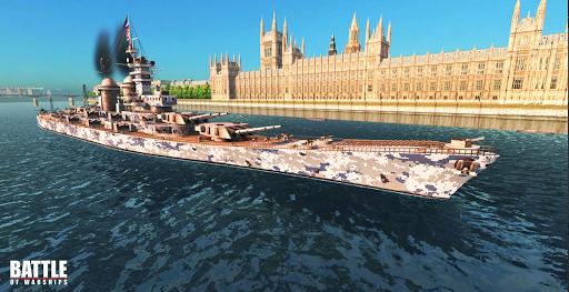 Battle of Warships: Naval Blitz  captures d'u00e9cran 1