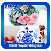 Colorful Pumpkin Painting Ideas icon