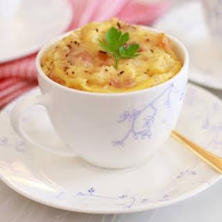 Microwave Mug Savory French Toast (Microwave Mug Meals).