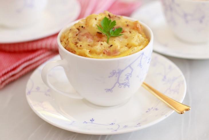 Microwave Mug Savory French Toast (Microwave Mug Meals) Recipe