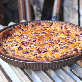 Clafoutis aux framboises (Raspberry Clafoutis)