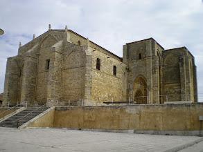 Photo: Etapa 15. Iglesia de Santa Maria la Blanca. Villalcazar de Sirga