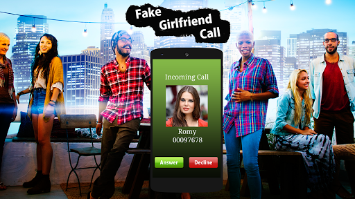 Fake GirlFriend Calling : Prank app apktram screenshots 2