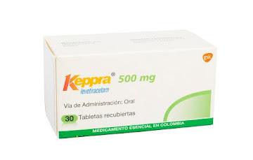 Keppra 500Mg Tabletas   Caja x30Tab. GSK Levetiracetam -Rg$-