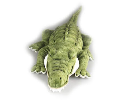 Stuffed crocodile
