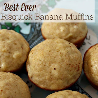 Best Ever Bisquick Banana Muffins Recipe