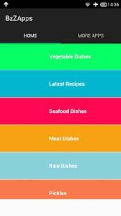 Kerala Recipes Cookbook - náhled