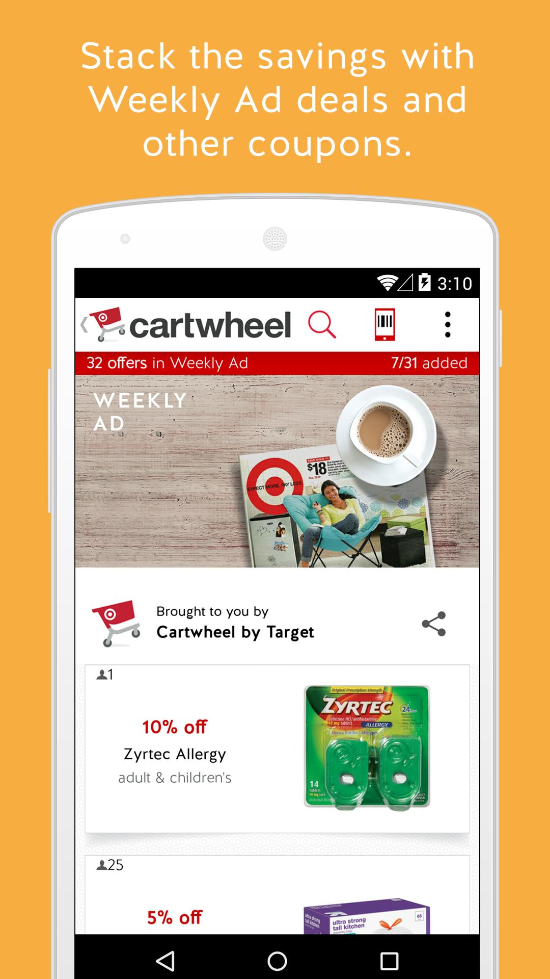 Cartwheel by Target screenshot #12