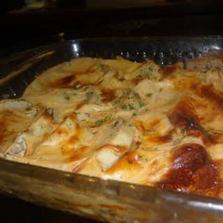 Potato Au Gratin With Eva Milk.