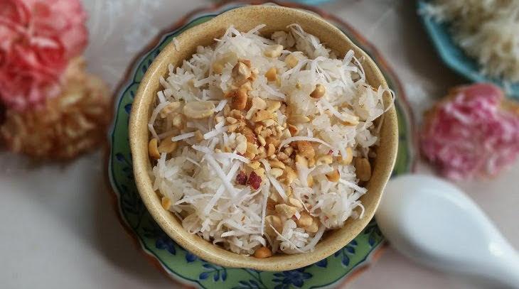Cách nấu xôi dừa dẻo thơm, ngon miệng