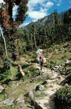 Photo: En allant vers le Gongur Bhanjyang