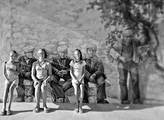 Seduti sulla stessa panchina