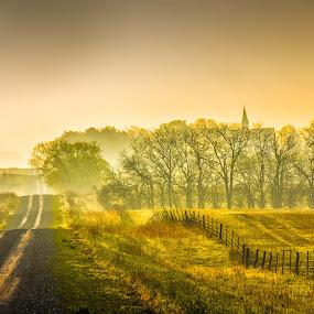 by Bruce Thiel - Landscapes Prairies, Meadows & Fields (  )