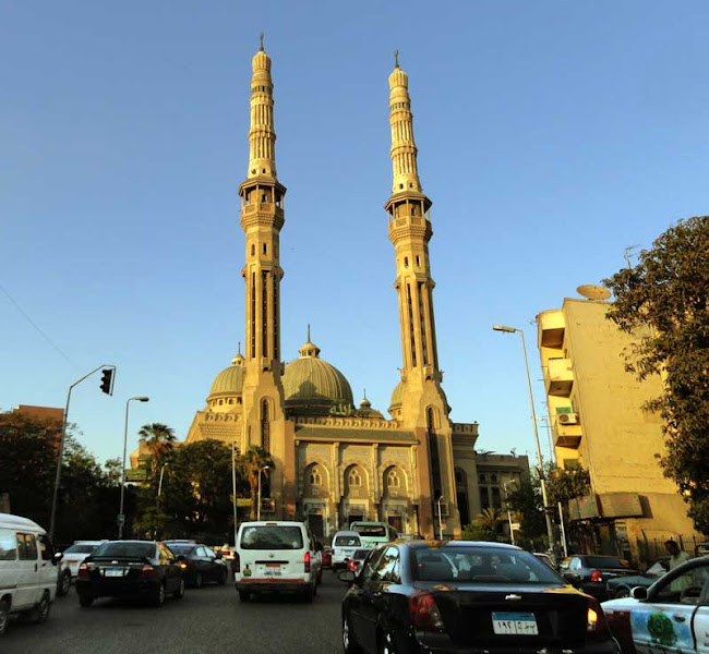 Photo: Day 130 G+ 365 Project: 9 May 2012 - el Nour mosque in Abbasiya, Cairo, Egypt