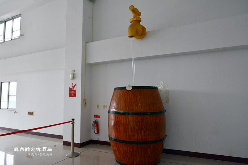 龍泉觀光啤酒廠生產製程區