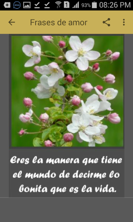 Flores Con Frases De Amor Android Apps Appagg