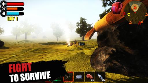 Just Survive: Raft Survival Island Simulator  captures d'u00e9cran 1