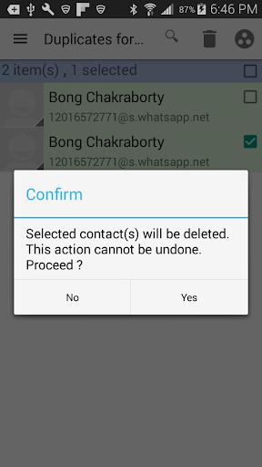 Duplicates for WhatsApp 1.41 screenshots 5