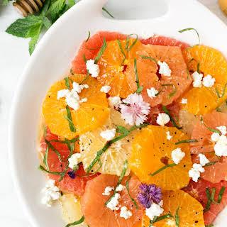 Mixed Citrus Salad.