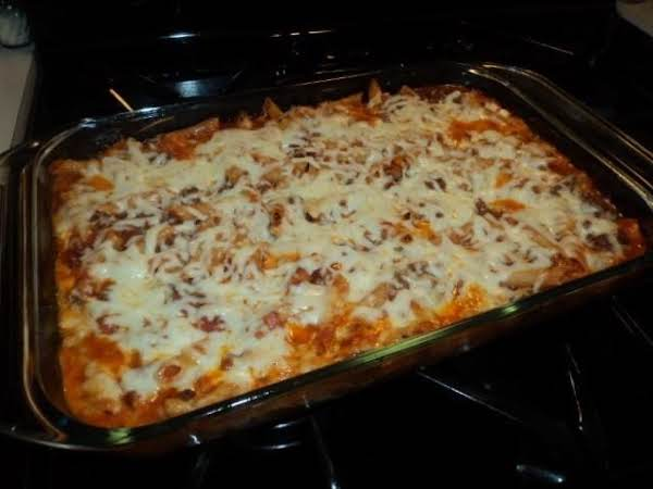 Such A Simple Version Of Lasagna And It Tastes Great!