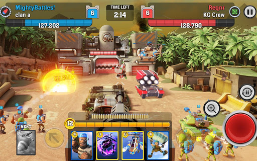 Mighty Battles  captures d'u00e9cran 1